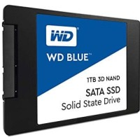 "WD SSD BLUE 1TB / 2.5"" SATA 7mm SSD / 3D NAND SSD / 5 years warranty"