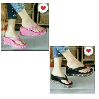 Sandal Wedges Hello Kitty Sendal Wedges Kasual Wanita Sandal Anak Cewe