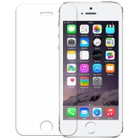 Hikaru Tempered Glass Apple iPhone SE/5s/5 Full Set - Clear