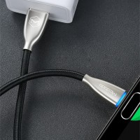 MCDODO USB Type C Kabel Super Fast Charging with Lighting - Hitam