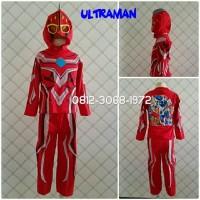 Baju Kaos Kostum Anak Karakter Superhero ULTRAMAN