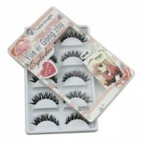 Bulu Mata Palsu Import - 5 Pasang Bulu Mata Palsu Cantik - Make Up