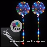 stick and cup bening balon PVC / stik cup balon PVC bening besar