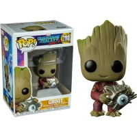 Funko POP! Marvel Guardian of The Galaxy Vol 2 - Groot with Cyber Eye