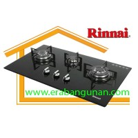 Built-in Gas Hob Kompor Gas Tanam 3 Tungku Rinnai RB-713N (GB)