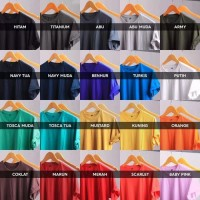 Kaos Polos Katun Bambu 3XL / XXXL O Neck (Cotton Bamboo Tshirt)