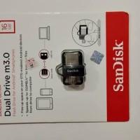 SANDISK FLASHDISK USB OTG M3.0 16GB UP TO 150 MB/S