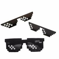 Kacamata Desgin Thug life Mosaic Sunglasses Kacamata Hitam Wanita/Pria