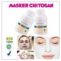 Masker Wajah Chitin Chitosan Tiens Untuk Kulit Berminyak (10 kapsul)