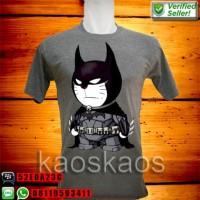 Kaos doraemon batman Ukuran S sd XL