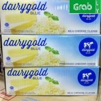 Keju Dairy Gold Blue Cheddar 2 KG GOJEK ONLY