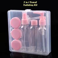 New 7 In 1 Travel Toiletries Kit (Cocok Untuk Traveling) Berkualitas