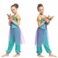 Kostum Jasmine Aladin / Baju Anak Aladin Princess Jasmine CG44