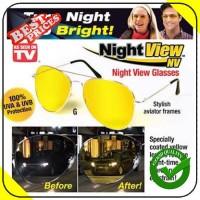 Kacamata Anti Silau dan Pusing di Malam Hari Night View Glasses Vision