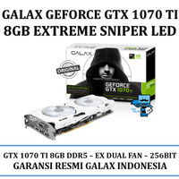 VGA GALAX nVidia Geforce GTX 1070 Ti 8GB DDR5 EX SNIPER VERSION LED