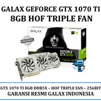 VGA GALAX nVidia Geforce GTX 1070 Ti 8GB DDR5 HOF - Triple Fan