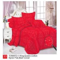 Rumindo Bedcover Set Tomato