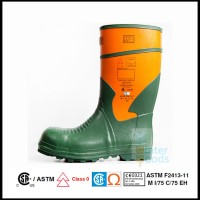 Sepatu Safety Boot Tahan Listrik 20KV / Pelindung Besi Di Ujung Kaki