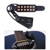 spull/ Pickup Gitar Akustik 12 Hole dengan Volume Control