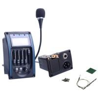 Preamp Amplifier Gitar EQ Tuner dengan Microphone - LC-5Preamp Amplifi