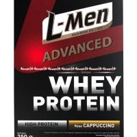 L-Men Advanced Whey Protein Rasa Cappucino 250gr Susu Lmen Capucino