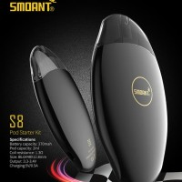 AUTHENTIC SMOANT S8 Pod Kit Mod Vape Vapor Suorin Envii Breeze 2 Ceto