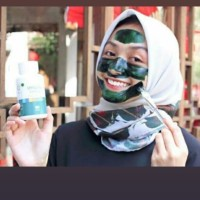 Masker spirulina ISI 10 TIENS ORI /ASLI