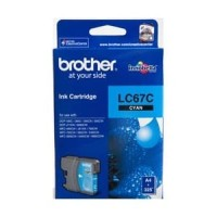 BROTHER Tinta LC-67C   LC67C   LC67 C Original Cyan