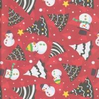 "Kertas kado Sansan Wawa SW-162 Christmas/Natal"""