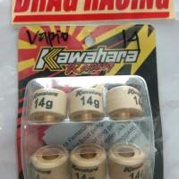roller kawahara vario old. vario 110 . 14 gram