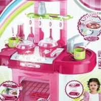 Hot Promo Mainan Kitchen Set Pink Koper Murah Masak Masakan Produk