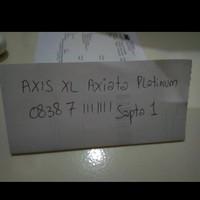 Sapta 1 - 0838 7 1111111 - Nomor Cantik Super Kartu XL Axiata