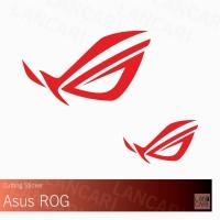 Decal Sticker Asus ROG Cutting Macbook Pro Air Laptop Stiker ORACAL