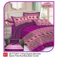 Rumindo Bedcover Set Buttony