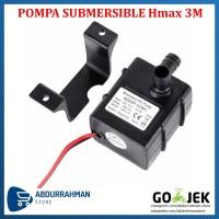 Mini Submersible Water Pump DC 12V 3M Motor Pompa Air Mini Celup