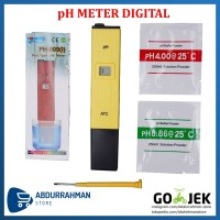 PH Meter Tester TDS Digital Alat Ukur Asam / Basa Cairan