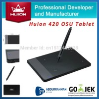 Huion 420 Grafik Drawing Pad Tablet Pen alternatif Wacom