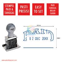 Stempel Paid & Tanggal Date Stamp S-70 JOYKO Kenko Artline Pyramid