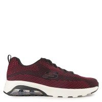 Sepatu Sneakers Orignial Skechers Air Varsity - Black/Red