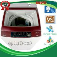 Mesin Cuci 1 Tabung Aqua Sanyo 98DD Full Otomatis Cuci dan Kering 9KG