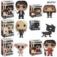 Funko POP anime Harry Potter/DOBBY/Luna Lovegood/Severus Snape/Ron Wea
