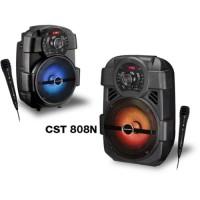 Speaker Simbadda Cst 808 Portable Karaoke