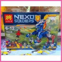 mainan lego nexo knight lele 79236 nick nexu knights mecha horse