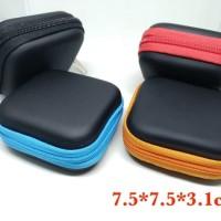 Earphone case tempat headset handsfree charger model kotak