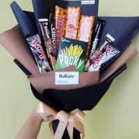 Bouquet snack | Buket wisuda | Buket snack | Bouquet wisuda 74K