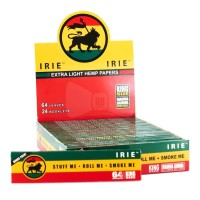 Jual Rolling paper Irie Hemp + Tbk strawberry Mint 3gr