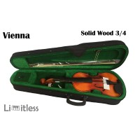 Biola Violin Vienna 3/4 Solid Wood Original