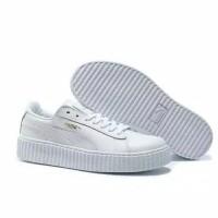 Sepatu Kets Sneakers Puma Rep Putih Sepatu Sekolah Anak Laki Perempuan