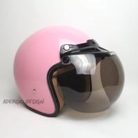 Helm Bogo Dewasa SNI - Full Cat Pink Glossy