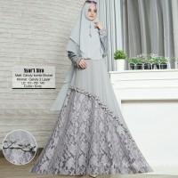 Baju Muslim Gamis Wanita Syari Pesta Ceruty Aira Terbaru